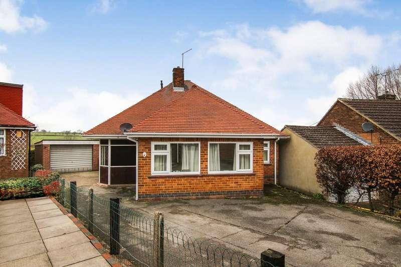 2 Bedrooms Detached Bungalow for sale in Ford Avenue, Loscoe, Derbyshire DE75