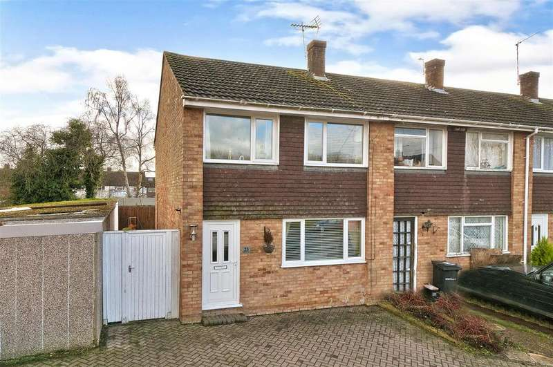 3 Bedrooms End Of Terrace House for sale in Pippin Close, Coxheath