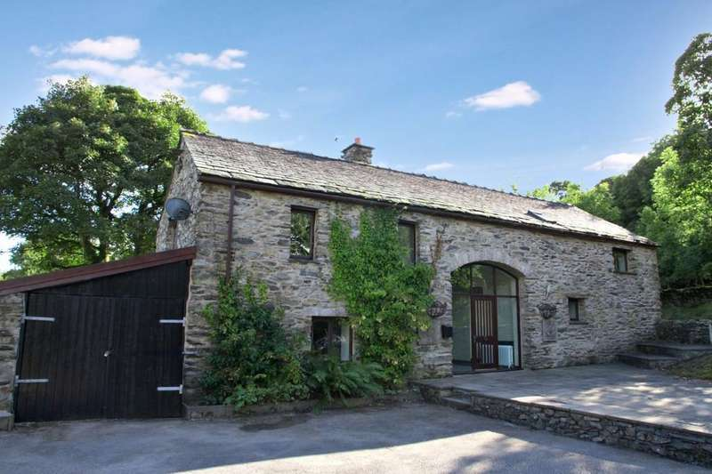 4 Bedrooms Barn Conversion Character Property for sale in Burns Barn, Cartmel, Grange-Over-Sands, Cumbria, LA11 7SS