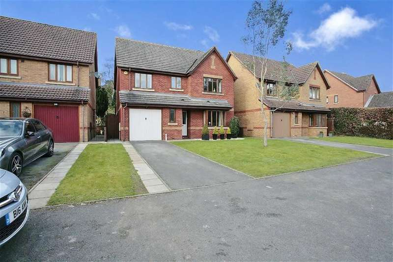 4 Bedrooms Detached House for sale in Leyesland Court, Banbury, Oxfordshire, OX16