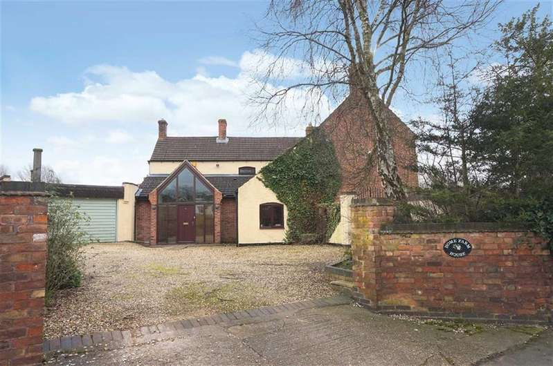 5 Bedrooms Detached House for sale in Main Street, Bushby, Bushby Leicester, Leicestershire