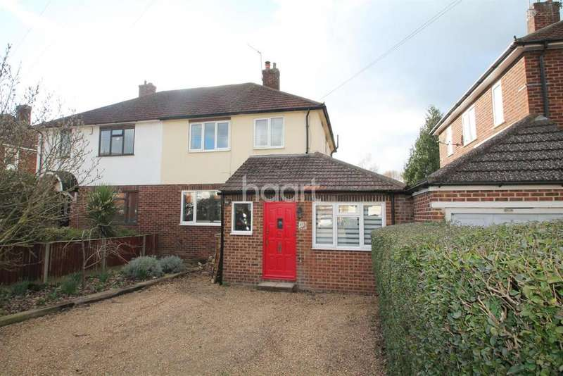 3 Bedrooms Semi Detached House for sale in Between town and River