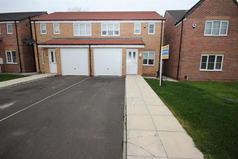 3 Bedrooms Semi Detached House for sale in Robinson Close, Hartlepool