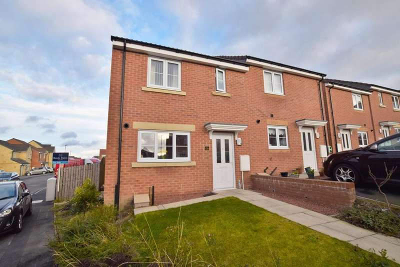 3 Bedrooms Semi Detached House for sale in Orchard Grove, Kip Hill, Stanley