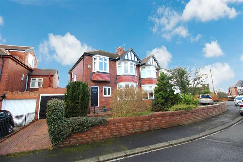 3 Bedrooms Semi Detached House for sale in Layfield Road, Newcastle Upon Tyne, NE3