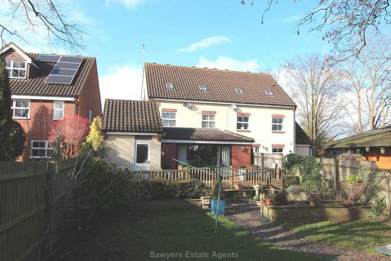 4 Bedrooms Semi Detached House for sale in Uptons Garden, Whitminster