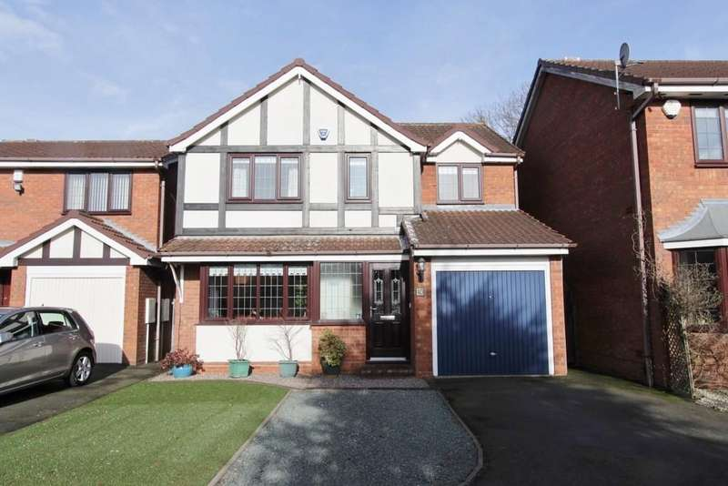 4 Bedrooms Detached House for sale in Cumberland Drive, Fazeley