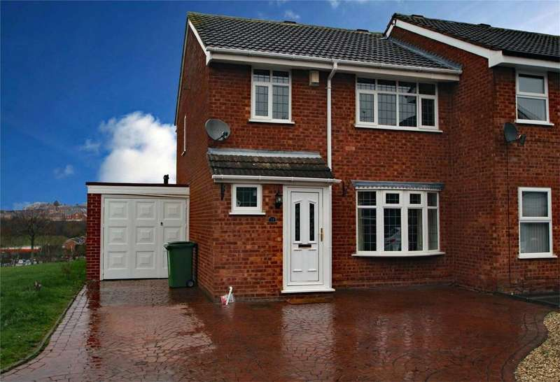 3 Bedrooms Semi Detached House for sale in Barsham Drive, Withymoor Village, BRIERLEY HILL