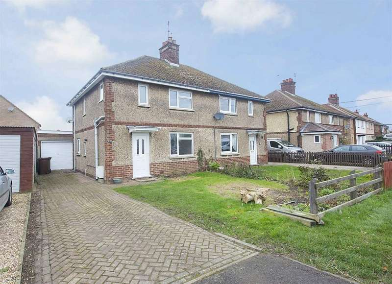 3 Bedrooms Semi Detached House for sale in Kirby Road, Gretton, Northamptonshire