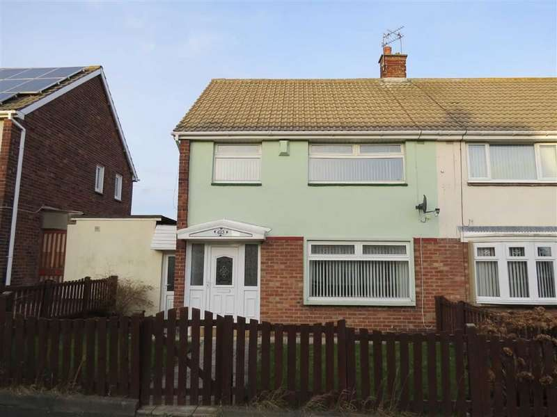 3 Bedrooms Semi Detached House for sale in Coach Road Estate, Usworth, Washington