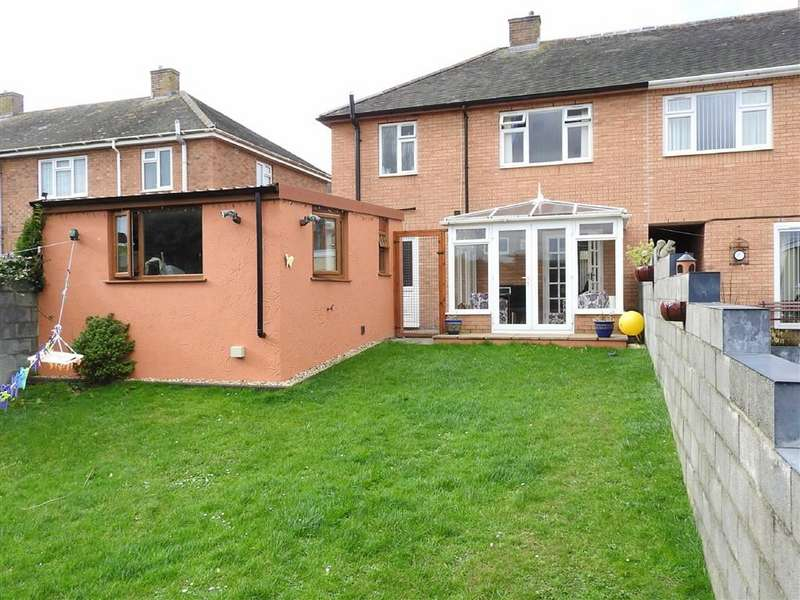 3 Bedrooms Property for sale in Heol Y Garth, Penparcau, Aberystwyth