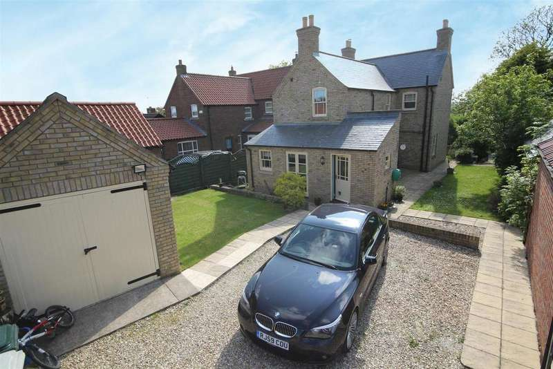 3 Bedrooms Detached House for sale in Bramble Farmhouse, Church Lane, Huttoft