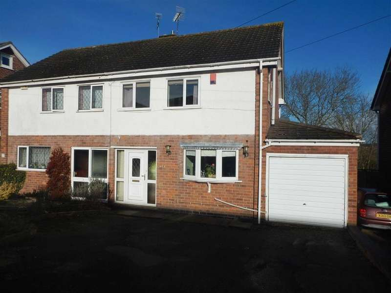 3 Bedrooms Semi Detached House for sale in Tower View Crescent, Nuneaton, Warwickshire, CV10