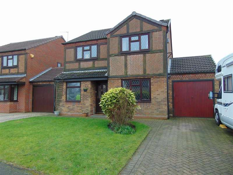 4 Bedrooms Detached House for sale in St. Marys Way, Aldridge, Walsall