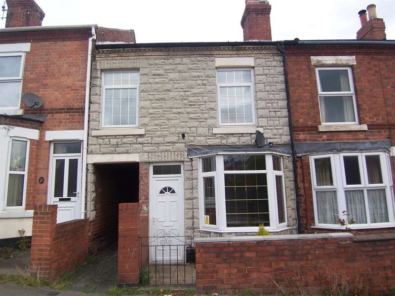 3 Bedrooms Terraced House for sale in Hands Road, Heanor