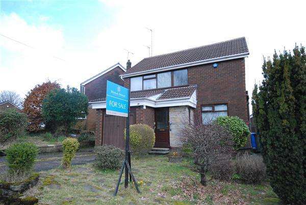 3 Bedrooms Detached House for sale in Links View, Half Acre, Rochdale
