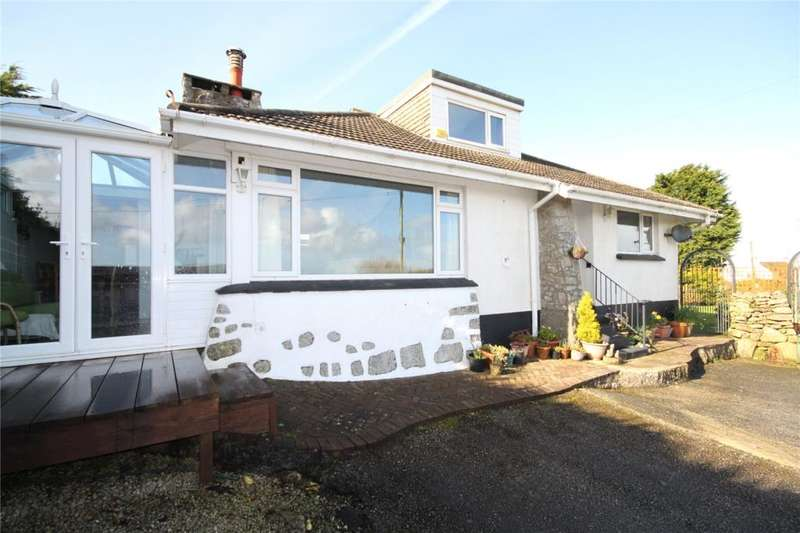 3 Bedrooms Detached Bungalow for sale in Lestraynes Lane, Rame Cross, Nr Penryn