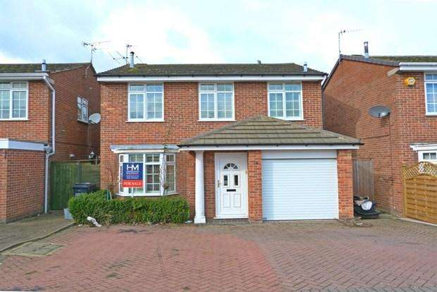 4 Bedrooms Detached House for sale in Orchard Way, Syston, LE7