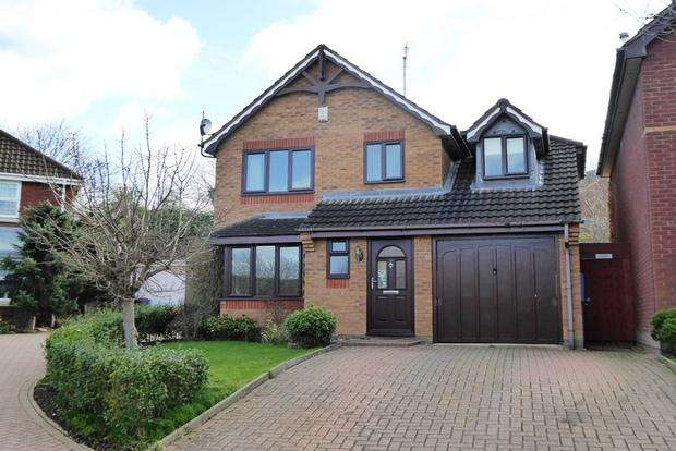 3 Bedrooms Detached House for sale in Wrekin Close, Hunsbury Hill, Northampton, NN4