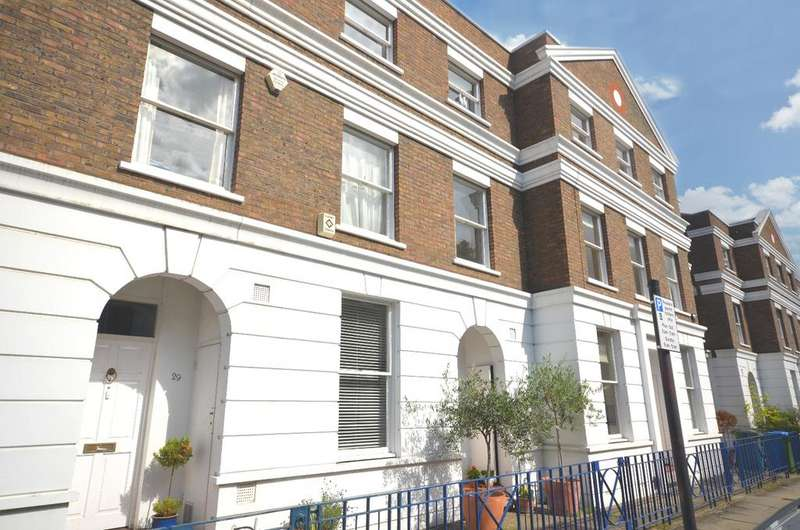 4 Bedrooms Terraced House for sale in Burney Street West Greenwich SE10