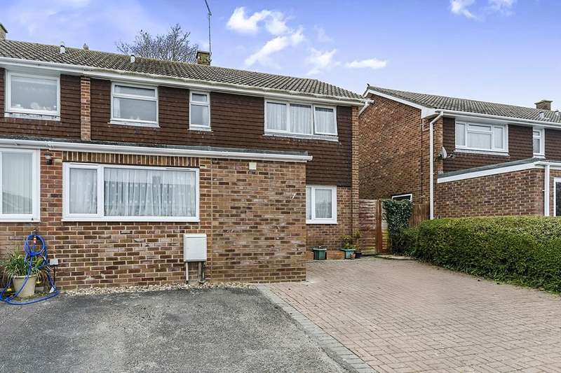 3 Bedrooms Semi Detached House for sale in Anders Road, South Wonston, Winchester, SO21