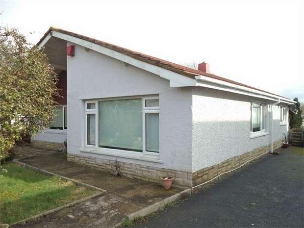3 Bedrooms Detached Bungalow for sale in Stonebridge Road, Rassau, EBBW VALE, Blaenau Gwent