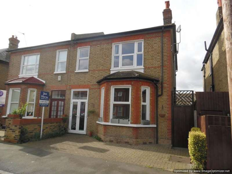 4 Bedrooms Semi Detached House for sale in Percy Road, Mitcham CR4