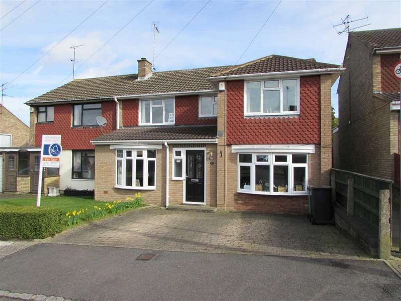 5 Bedrooms Semi Detached House for sale in Tarnside Close, Dunstable, Bedfordshire, LU6