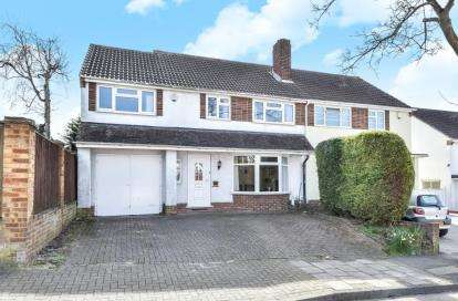 4 Bedrooms Semi Detached House for sale in Blenheim Road, Orpington