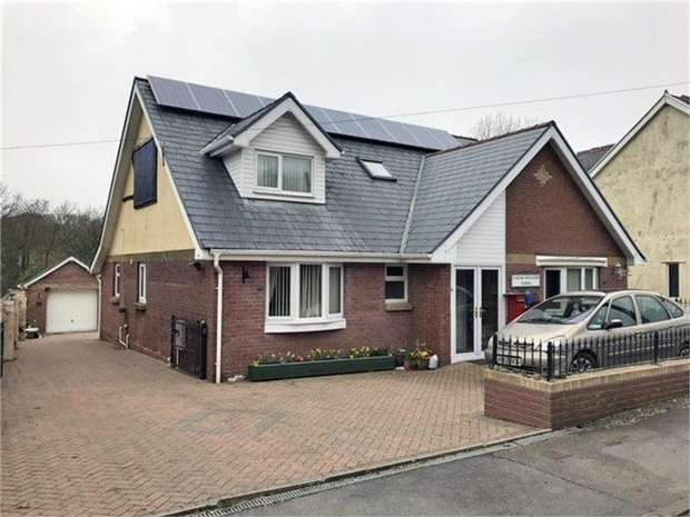 3 Bedrooms Detached Bungalow for sale in Milo, Llandybie, Ammanford, Carmarthenshire