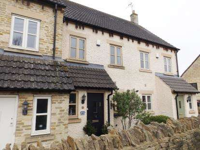 3 Bedrooms Terraced House for sale in Cottage Gardens, Nympsfield Road, Forest Green, Stroud