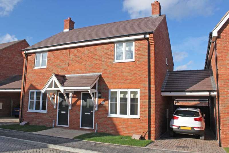 2 Bedrooms Semi Detached House for sale in Willow End, Didcot