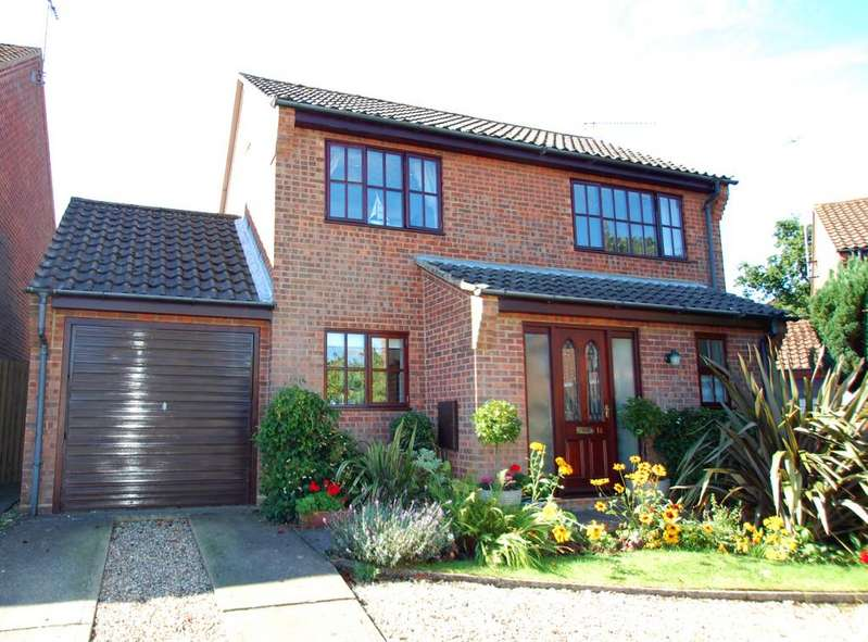 4 Bedrooms Detached House for sale in Valley Gardens, North Walsham, Norfolk