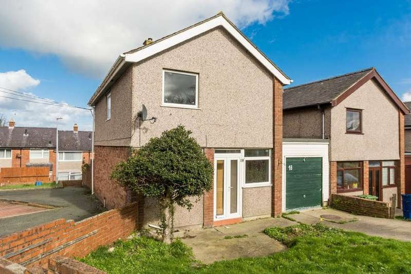 3 Bedrooms Link Detached House for sale in Llys Geraint, Bangor, North Wales