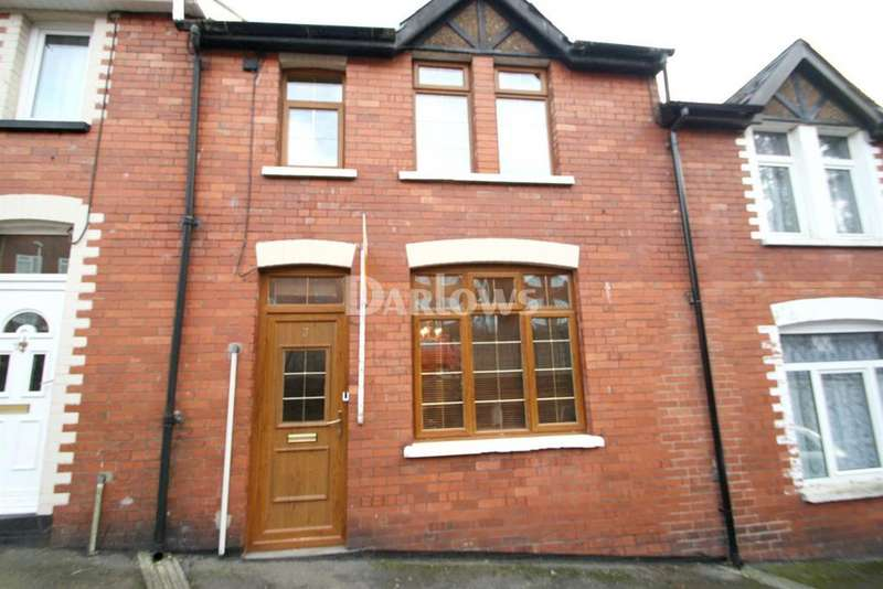 2 Bedrooms Terraced House for sale in Woodview Terrace, Coed Cae Place, Pontypool