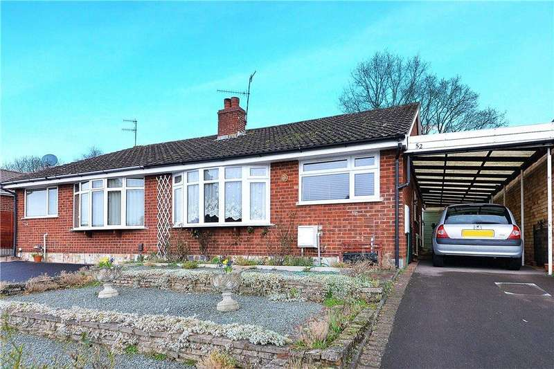 2 Bedrooms Semi Detached Bungalow for sale in Shakespeare Drive, Kidderminster, DY10