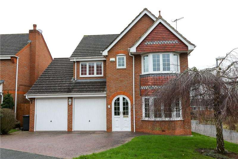 4 Bedrooms Detached House for sale in Reed Mace Drive, Bromsgrove, B61