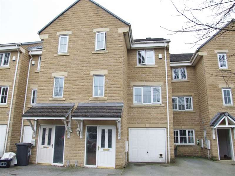 3 Bedrooms Town House for sale in Oakwood Gardens, Holmfield, Halifax, HX2 8HB
