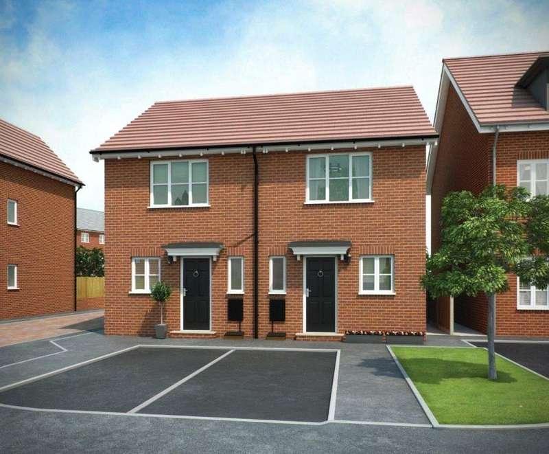2 Bedrooms Semi Detached House for sale in PLOT 5 WEAVER, Navigation Point, Cinder Lane, Castleford, West Yorkshire