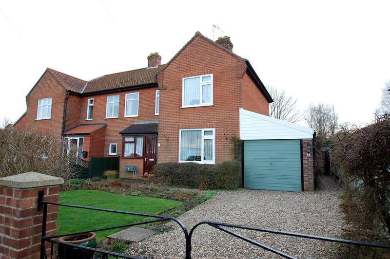 3 Bedrooms Semi Detached House for sale in Kimberley Road, North Walsham