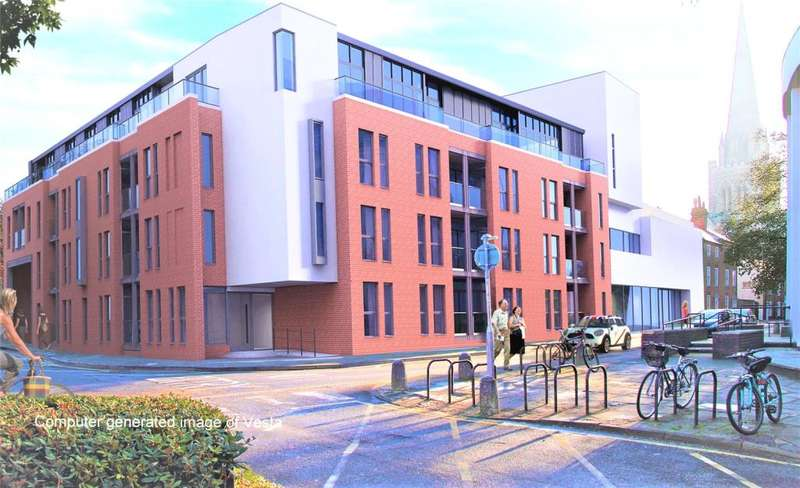 2 Bedrooms Apartment Flat for sale in Vesta, Tower Street, Chichester, West Sussex, PO19