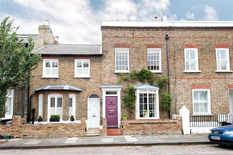 4 Bedrooms Terraced House for sale in Lillian Road, Barnes, London, SW13
