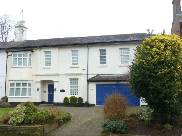 4 Bedrooms Semi Detached House for sale in Albert Road, Harborne, Birmingham, B17 0AP