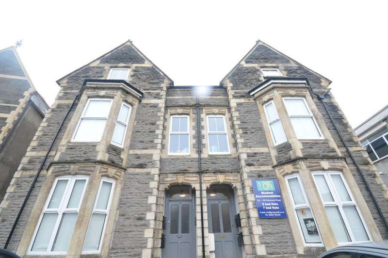 5 Bedrooms Flat for rent in Richmond Road, , Roath