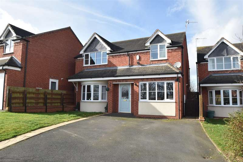 4 Bedrooms Property for sale in Hawthorn Rise, Tibberton, Droitwich