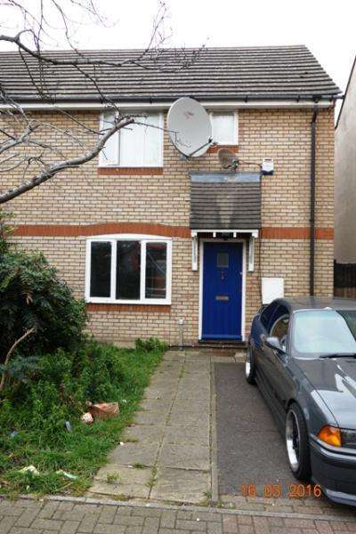2 Bedrooms Terraced House for sale in Brock Road, Plaistow, London, E13 8NA