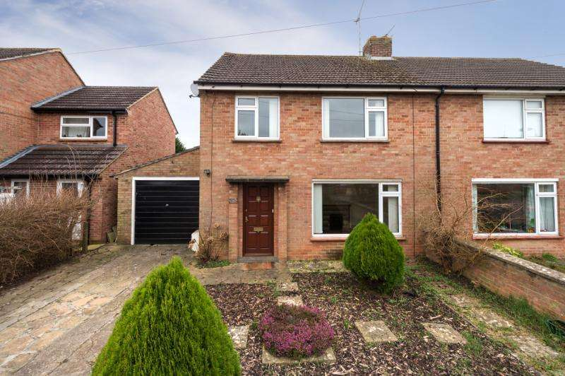 3 Bedrooms Semi Detached House for sale in Mathews Way, Wootton, Abingdon
