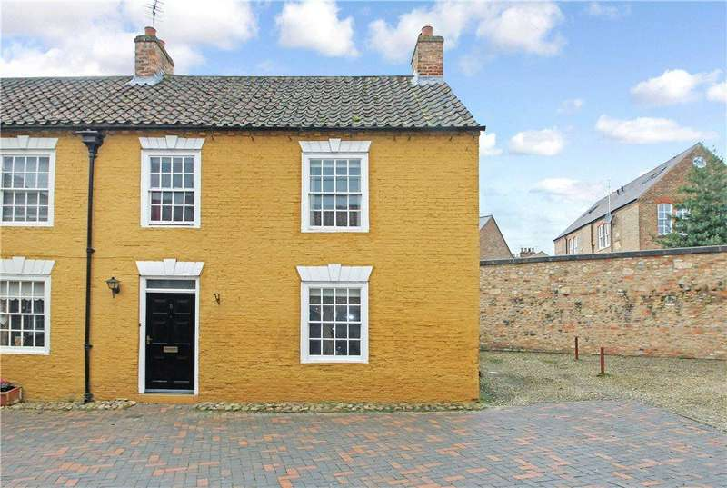 2 Bedrooms Semi Detached House for sale in Smithsons Court, Ripon, North Yorkshire