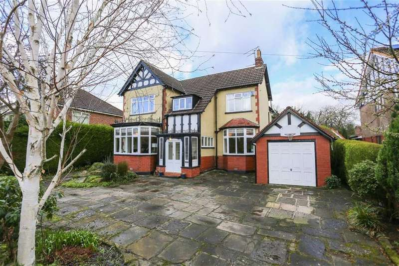 4 Bedrooms Detached House for sale in Gregory Avenue, Romiley, Cheshire