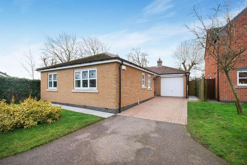 3 Bedrooms Detached Bungalow for sale in Richmond Drive, Melton Mowbray